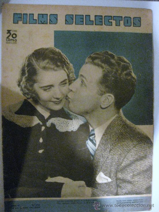 FILMS SELECTOS.Nº 230. 16 DE MARZO DE 1935. PORTADA DE RUBY KEELER Y DICK POWELL (Cine - Revistas - Films selectos)