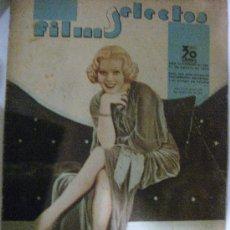 Cine: FILMS SELECTOS.Nº 252. 17 DE AGOSTO DE 1935. PORTADA DE ALICE FAYE.. Lote 28886673