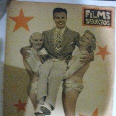 Cine: FILMS SELECTOS.Nº 225. 8 DE FEBRERO DE 1935. PORTADA DE DICK POWELL. Lote 28886704