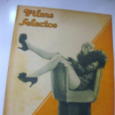 Cine: FILMS SELECTOS.Nº 227. 23 DE FEBRERO DE 1935. PORTADA DE GRACE BRADLEY. Lote 28920909