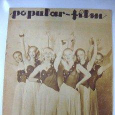 Cine: POPULAR FILM. Nº 401. 19 DE ABRIL DE 1934. DONNA MAE ROBERTS EN DESFILE DE CANDILEJAS. Lote 28921166