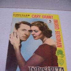 Cine: CINE - INDISCRETA - CINECOLOR,REVISTA PARA MAYORES. Lote 29004074