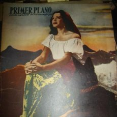 Cine: REVISTA PRIMER PLANO. Nº525. 1950 - PAQUITA RICO, GARY COOPER, GRETA GARBO, FRAY LUIS DE SOUSA. Lote 29035273