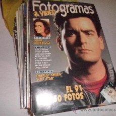 Cine: LOTE 11 REVISTAS FOTOGRAMAS AÑO 1992. Lote 29042884