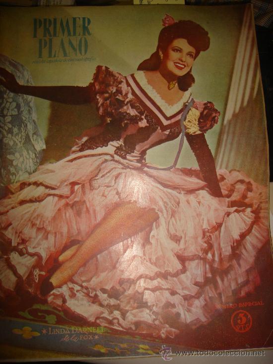 REVISTA PRIMER PLANO. Nº315. 1946 - NUMERO ESPECIAL. LINDA DARNELL, ALFRED HITCHCOCK,CINE CABALLISTA (Cine - Revistas - Primer plano)