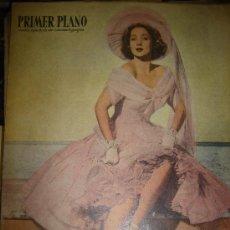 Cine: REVISTA PRIMER PLANO. Nº434. 1949 - ANN SOTHERN, LOUIS JOURDAN, GARY COOPER, THORNTON WILDER. Lote 29046286