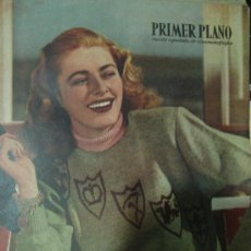 Cine: REVISTA PRIMER PLANO. Nº448. 1949 - ELEANOR PARKER, TURHAN BEY, JANE WAYMAN, CARY GRANT. Lote 29046463