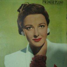 Cine: REVISTA PRIMER PLANO. Nº454. 1949 - LARAINE DAY, IRENE DUNNE, GERARD PHILIPPE, AVA GARDNER. Lote 29046476