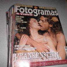 Cine: LOTE 11 REVISTAS FOTOGRAMAS AÑO 1995. Lote 29048848