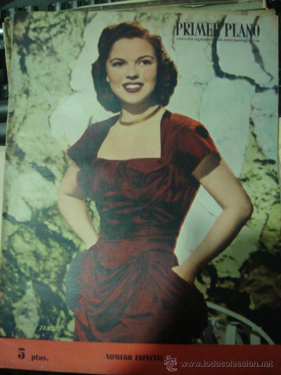REVISTA PRIMER PLANO. Nº470. 1949 - NUMERO ESPECIAL. SHIRLEY TEMPLE, TYRONE POWER, AVA GARDNER (Cine - Revistas - Primer plano)