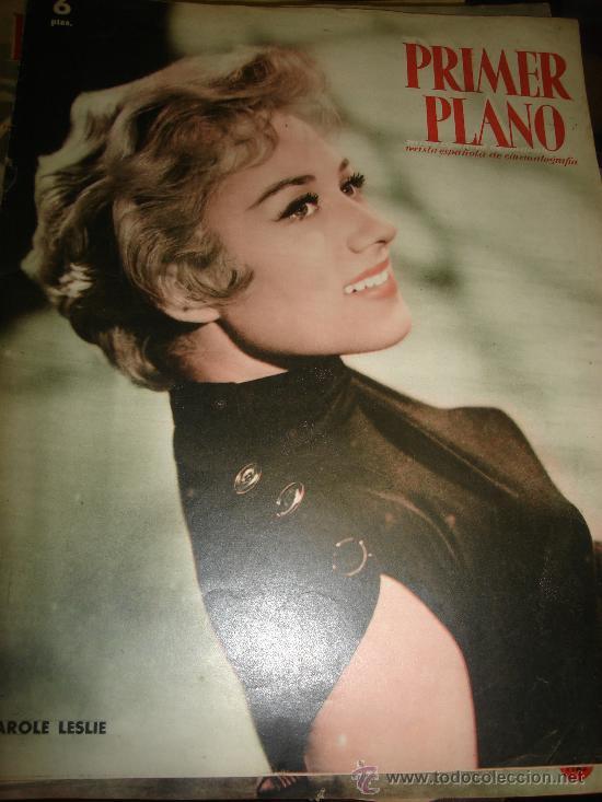 REVISTA PRIMER PLANO. Nº987. 1959 - CAROLE LESLIE, Mº FERNANDA LADRON DE GUEVARA, LARRAÑAGA (Cine - Revistas - Primer plano)
