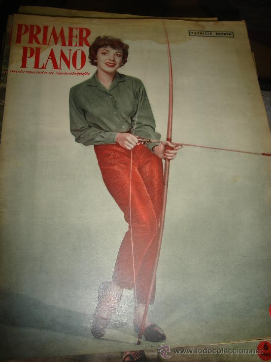 REVISTA PRIMER PLANO. Nº990. 1959 - PATRICIA BREDIN, SIR LAURENCE OLIVIER, CLAIRE BLOOM, MISS CUPLE (Cine - Revistas - Primer plano)