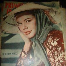 Cine: REVISTA PRIMER PLANO. Nº921. 1958 - GIORGIA MOLL, MARTINE CAROL, JOSEFINA GUELL, LISOLETTE PULVER. Lote 29047126