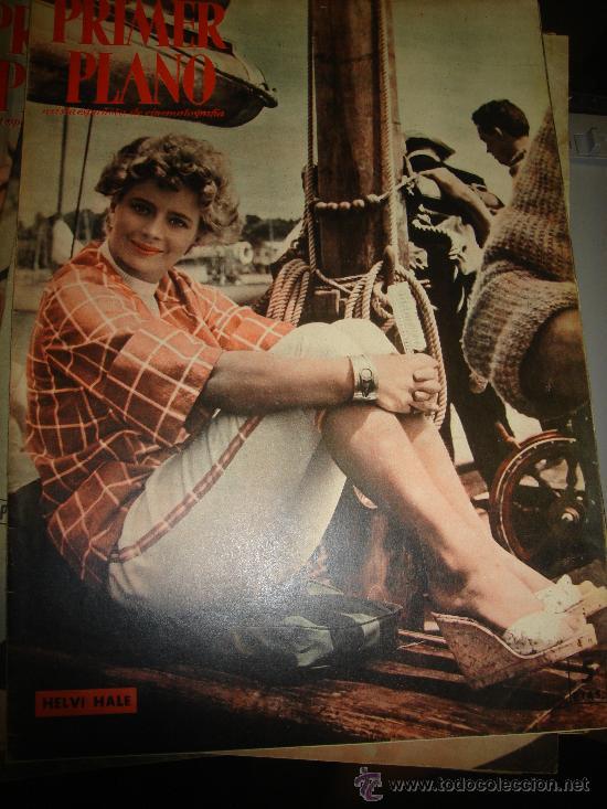 REVISTA PRIMER PLANO. Nº922. 1958 - HELVI HALE, SYLVIA SIMS, MARGARET LOCKWOOD, KATIA LORITZ (Cine - Revistas - Primer plano)