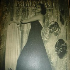 Cine: REVISTA PRIMER PLANO. Nº296. 1946 - MERLE OBERON, ROOSEVELT, CLAUDETTE COLBERT, RALPH BELLAMY. Lote 29047575