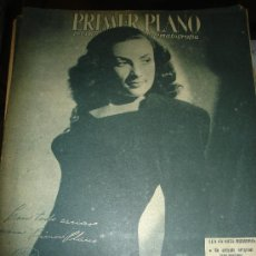 Cine: REVISTA PRIMER PLANO. Nº297. 1946 - ELENA MARQUEZ, SAMUEL GOLDWYN, ELISABETH KENNY, DE COSSIO. Lote 29047593