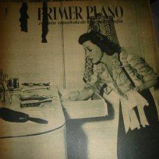 Cine: REVISTA PRIMER PLANO. Nº303. 1946 - IRENE DUNNE, MYRNA LOY, JOHNNY JOHNSTON, JACQUELINE LAURENT. Lote 29047698