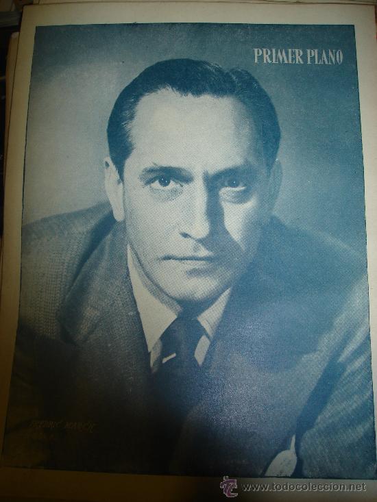 Cine: REVISTA PRIMER PLANO. Nº477. 1949 - VIVECA LINDFORS, SHIRLEY TEMPLE, MARTA TOREN, FREDERIC MARCH - Foto 2 - 29046624