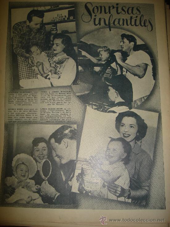 Cine: REVISTA PRIMER PLANO. Nº454. 1949 - LARAINE DAY, IRENE DUNNE, GERARD PHILIPPE, AVA GARDNER - Foto 2 - 29046476