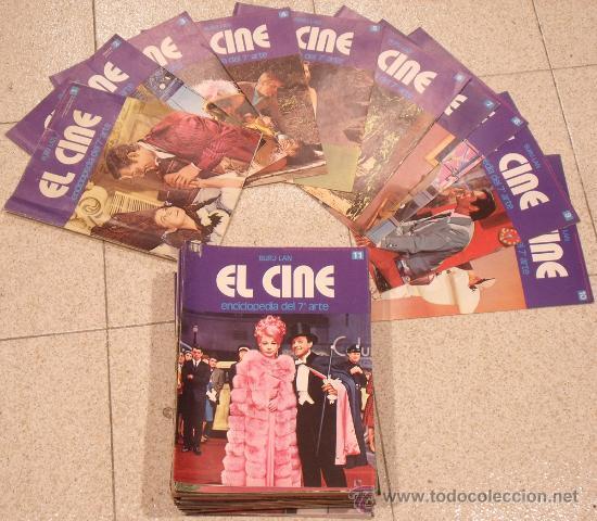 OK61 EL CINE ENCICLOPEDIA DEL 7º ARTE BURU LAN COMPLETA 1973 FASCICULOS 1-96 (Cine - Revistas - Otros)