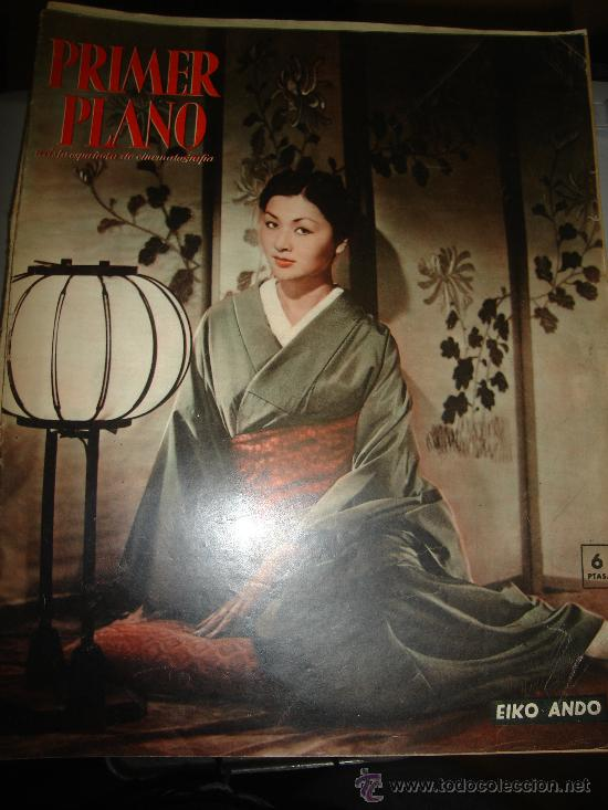 REVISTA PRIMER PLANO. Nº972 1959 - EIKO ANDO, OLGA ANDRE, VAN JOHNSON, MARTINE, CARMEN SEVILLA (Cine - Revistas - Primer plano)