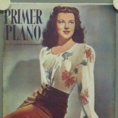 Cine: OM33 FAYE MARLOWE REVISTA ESPAÑOLA PRIMER PLANO NOVIEMBRE 1946. Lote 29109297