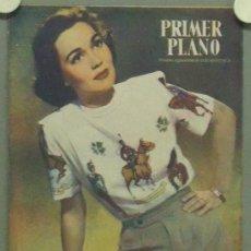 Cine: OM39 JANE WYMAN REVISTA ESPAÑOLA PRIMER PLANO DICIEMBRE 1947. Lote 29110545