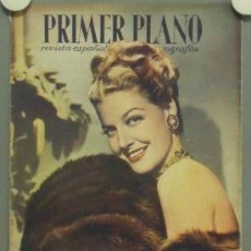 Cine: OM48 ANN SHERIDAN REVISTA ESPAÑOLA PRIMER PLANO JUNIO 1947. Lote 29111657