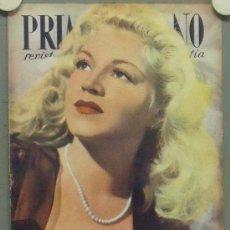 Cine: OM57 CLAIRE TREVOR REVISTA ESPAÑOLA PRIMER PLANO ABRIL 1947. Lote 29131220