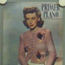 Cine: OM59 LILLI PALMER REVISTA ESPAÑOLA PRIMER PLANO AGOSTO 1947. Lote 29131453