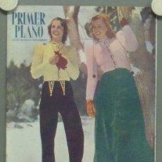 Cine: OM62 MARY HOWARD ANN MORRIS REVISTA ESPAÑOLA PRIMER PLANO ENERO 1947. Lote 29131932