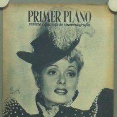 Cine: OM65 MARTHA SCOTT REVISTA ESPAÑOLA PRIMER PLANO NOVIEMBRE 1945. Lote 29132340