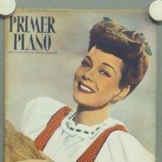 Cinema: OM68 JANE WYMAN REVISTA ESPAÑOLA PRIMER PLANO MARZO 1947. Lote 29132625