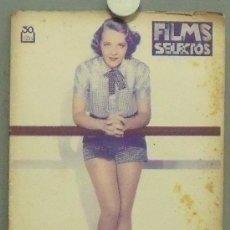 Cine: OM71 RUBY KEELER REVISTA ESPAÑOLA FILMS SELECTOS ENERO 1935. Lote 29132945