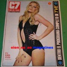 Cine: CINE EN 7 DIAS 597/1972~EVA RUBER-STAIER MISS MUNDO~PAQUITA RICO~HAYDEE POLITOFF~VALENTIN TORNOS. Lote 29135284