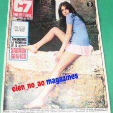 Cine: CINE EN 7 DIAS 497/1970~ANGELA COVELLO~JENNY HANLEY~LOLA FALANA~KATIA TCHENKO~MARIA JOSE ALFONSO . Lote 29135671