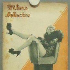 Cine: OM81 JOAN BLONDELL GRACE BRADLEY REVISTA ESPAÑOLA FILMS SELECTOS FEBRERO 1935. Lote 29136155