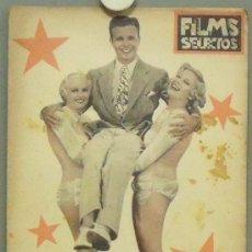 Cine: OM89 DICK POWELL CAROLE LOMBARD REVISTA ESPAÑOLA FILMS SELECTOS FEBRERO 1935. Lote 29137040