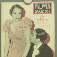 Cine: ON00 GEORGE RAFT CONSTANCE CUMMINGS REVISTA ESPAÑOLA FILMS SELECTOS DICIEMBRE 1933. Lote 29138979
