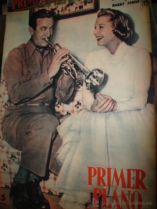REVISTA PRIMER PLANO. Nº831. 1956 - JUNE ALLYSON, HARRY JAMES, AVA GARDNER, STEWART GRANGER (Cine - Revistas - Primer plano)