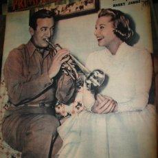 Cine: REVISTA PRIMER PLANO. Nº831. 1956 - JUNE ALLYSON, HARRY JAMES, AVA GARDNER, STEWART GRANGER. Lote 29143633