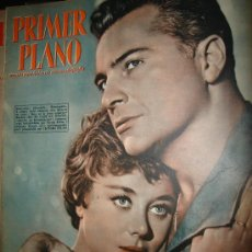 Cinéma: REVISTA PRIMER PLANO. Nº849. 1957 - GLYNIS JOHNS, ROSSANO BRAZZI, ANITA ECKBERG, VICTOR MATURE. Lote 29143861