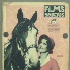 Cine: ON26 JUNE COLLYER REVISTA ESPAÑOLA FILMS SELECTOS AGOSTO 1931. Lote 29150512