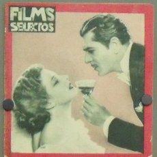 Cine: ON29 WARNER BAXTER ELISSA LANDI JEAN HARLOW REVISTA ESPAÑOLA FILMS SELECTOS AGOSTO 1933. Lote 29151449