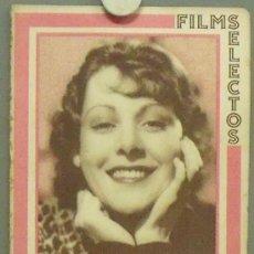 Cine: ON30 FRANCES DEE FAY WRAY REVISTA ESPAÑOLA FILMS SELECTOS JULIO 1933. Lote 29151659