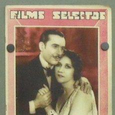 Cine: ON31 ERNESTO VILCHES MARIA LADRON DE GUEVARA REVISTA ESPAÑOLA FILMS SELECTOS ENERO 1932. Lote 29151827