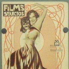 Cine: ON32 MADGE EVANS REVISTA ESPAÑOLA FILMS SELECTOS FEBRERO 1932. Lote 29152467