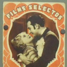 Cine: ON34 LEE PARRY WILLY FORST GARY COOPER MARLENE DIETRICH REVISTA ESPAÑOLA FILMS SELECTOS FEBRERO 1932. Lote 29152643