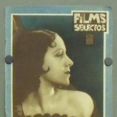 Cine: ON35 ROSITA MORENO REVISTA ESPAÑOLA FILMS SELECTOS NOVIEMBRE 1931. Lote 29152753