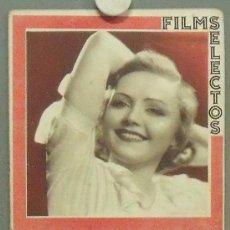 Cine: ON40 NANCY CARROLL CLARK GABLE MARION DAVIES REVISTA ESPAÑOLA FILMS SELECTOS DICIEMBRE 1932. Lote 29153109